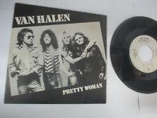 """LP 45 Tours Van Halen """"Pretty Woman"""" """"Happy Trails""""  WEA 1982"""