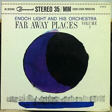 Enoch Light - Far Away Places Volume 2 LP VG+ RS 850-SD Stereo 35MM 1963 Record