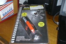 Sterling Tools 8-in-1 Portable Multi-Screwdriver With LED Flashlight Tool, NOS