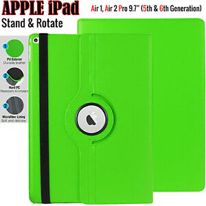 """Case For Apple iPad Pro 10.5"""" 9.7"""" Leather Smart Case 360° Rotating Stand Cover"""