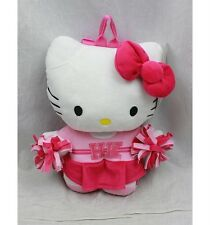 """NWT Sanrio Hello Kitty Plush Doll Backpack 15"""" Cheer Leader Kitty Newest Style"""