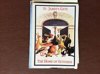 A4e  postcard used reprint advert the home of guinness