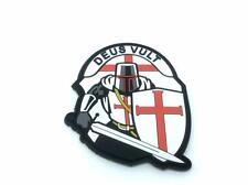Crusader 'Deus Vult' Knights Templar PVC Morale Patch