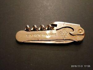 Vintage Folding Pocket Knife 1 Blade, Bottle Opener, Screw Driver, 1970s