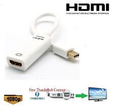 4K x 2K Thunderbolt Mini Displayport v1.2 DP to HDMI Adapter For iMAC Mac Book