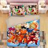 Dragonball Z Design Bedding Set 3PC Of Duvet Cover Pillowcase Single Double King