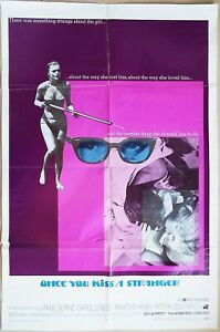 Once You Kiss a Stranger 1969  sexy Carol Lynley in swimsuit with harpoon gun!
