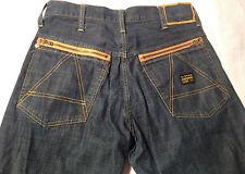 EUC - As New - RRP $389 - Mens Rare Vintage G-Star Raw 'S.C.A. BANDTOP' Jeans