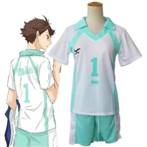 Anime Haikyuu!!Oikawa Tooru Cosplay Costume Volleyball Club Jerseys Team Uniform