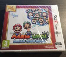 Neuf Sous Blister : Mario Et Luigi Dream Team Bros 3ds