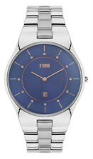 STORM CRYSTY BLUE 47325/B Elegante Herren Armband Uhr neu