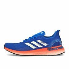 adidas Ultra Boost PB Glory Blue White Solar Red Laufschuhe Sneaker Blau Weiß