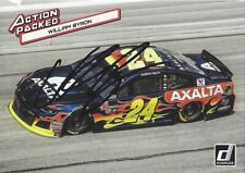 AUTOGRAPHED William Byron 2019 Donruss ACTION PACKED Signed NASCAR Insert Card
