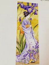 Heaven and Earth Cross Stitch Chart Iris by Meredith Dillman (Large Format)