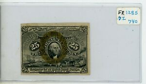 1863 25c FRACTIONAL CURRENCY FR 1285 #740