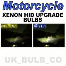 Xenon HID headlight bulbs Honda Hornet 600 & 900 H4 501