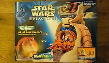 Star Wars Action Fleet Episode 1 Micro machines Jar Jar Binks Naboo Set NEW