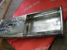 """Germany"" Late 40s? Steel Cigarette Case or Matchbox. 2 1/2"" inside, 3 3/8"" Long"