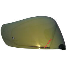 HJC Helmet Shield/Visor HJ-20M Gold Mirror For FG-17,IS-17,RPHA ST : Pinlock
