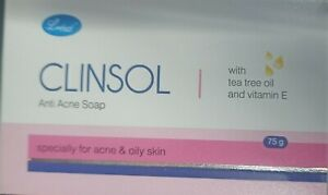 Leeford Clinsol  Cleansing Soap  with tea tree oil and vtatamin E -Pack of 4