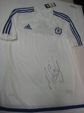CHELSEA - JOHN MIKEL HAND SIGNED CHELSEA TRAINING JERSEY + PHOTO PROOF + C.O.A