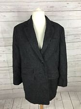 Womens Ralph Lauren Wool Coat - UK18/20 - Grey - Great Condition