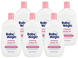 Baby Magic Creamy Baby Oil | Coconut Oil & Camelia Oil | Free of Parabens, and -