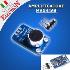Max4466 Amplificatore Microfono Voice module Microphone Audio Amplifier Arduino