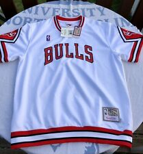 Mitchell & Ness Chicago Bulls XL Shooting Warm Up Shirt NBA Jordan 87-88🔥Shorts