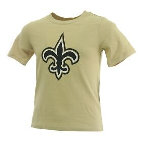NFL New Orleans Saints Kids Youth Size Team Apparel Official T-Shirt New Tag