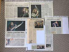 Pearl Jam Wien 2006 Sammlung Konzertberichte Zeitungsausschnitte Clippings