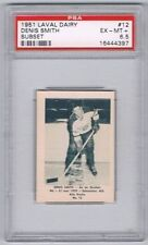 1952 Laval Dairy Subset Hockey Card Quebec Aces #12 Denis Smith Graded PSA 6.5