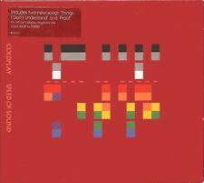 COLDPLAY - SPEED OF SOUND 2005 UK CD SINGLE IN DIGIPACK