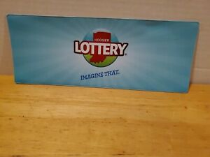NEW Indiana Lottery Vinyl Play Slip & Ticket Holder Sleeve Lotto & Draw Schedule