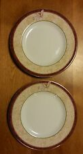 """Royal Doulton Beautiful ROSEWOOD set of 2 Bread and Butter Plates 6 5/8 """""""