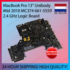 """MacBook Pro 13"""" 2010 Logic Board 2.4GHz with heatsink 661-5559 - 820-2879"""