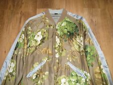 GUCCI BLOOMS FLORAL REVERSIBLE SILK JACKET SIZE 52 XL