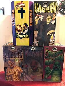 Universal Studios Monsters 1991 Limited Edition Tin Wind-Up Collector