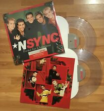 *NSYNC - Home For Christmas (Limited CLEAR Vinyl 2-LP) • NEW • Justin Timberlake