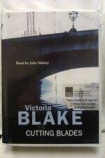 Cutting Blades by Victoria Blake: Unabridged Cassette Audiobook (VV2)