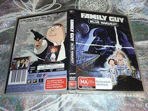 FAMILY GUY PRESENTS BLUE HARVEST (DVD, MA15+)