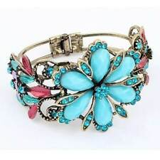 Alloy Flowers & Plants Fashion Bracelets