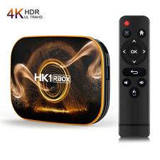 Hk1 Pro Smart Tv Box Android 10.0 Quad Core 4K Smart 5G Wifi Media Streamer Box