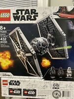 LEGO Star Wars Imperial TIE Fighter 75300 Building Kit (432 Pieces)