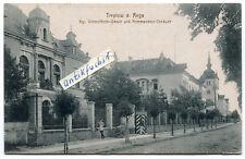 Postkarte um 1917 :  Treptow am Rega / Trzebiatów , Kgl.Unteroffizier-Schule