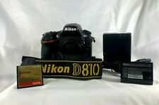 Nikon D810 FX 36.3 MP Digital SLR Camera - Black (Body Only) plus accessories