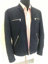 RRP ~ 3000$ Brunello Cucinelli Leather Suede Bomber Coat Jacket