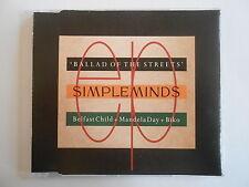 "SIMPLE MINDS : BALLAD OF THE STREETS ""BELFAST CHILD"" [CD SINGLE] ~ PORT GRATUIT"