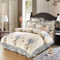 Duvet Cover Queen/Full 4/6Pcs Cotton Bedding Set Comforter Cover Pillow Shams
