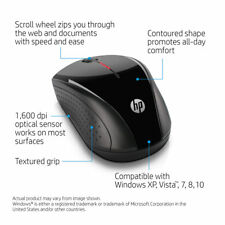 HP x3000 Wireless Mouse Computer Laptop Black Open Box FREE SHIPPING